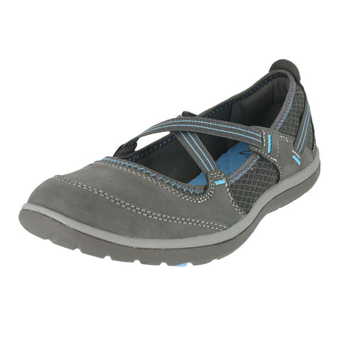 WOMENS ARIA MARYJANE M DARK GREY NUBUCK