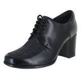 WOMENS KENSETT DARLA OXFORD BLACK COMBINATION LEATHER