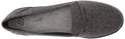 WOMENS AYALA FORM CLOUDSTEPPERS  GREY TWEED