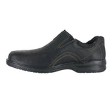MENS SHERWIN TIME SLIP ON WIDE BLACK