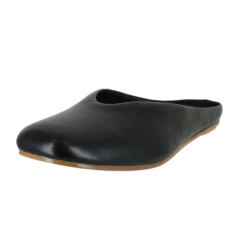 WOMENS MARGOT MULE BLACK LEATHER