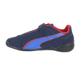 TODDLERS (T) TUNE CAT NUBUCK 2 V PSV PEACOAT BLUE CRIMSON