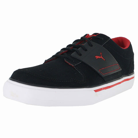 KIDS (K) EL ACE 2 NBK  BLACK HIGH RISK RED
