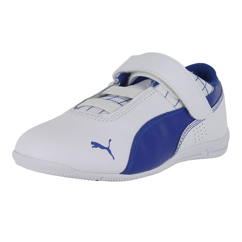 KIDS (K) DRIFT CAT 6 LEATHER WHITE SURF THE WEB
