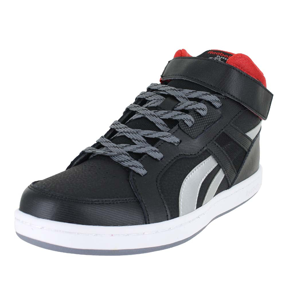 KIDS MISSION 2.0 BLACK RED SILVER
