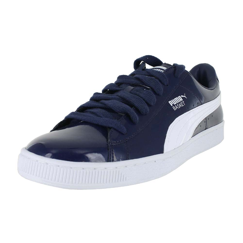 MENS BASKET MATTE AND SHINE BLUE