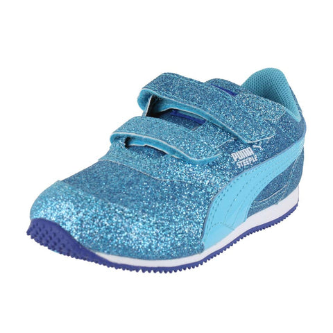 TODDLERS STEEPLE GLITZ GLAM V INF BLUE ATOLL