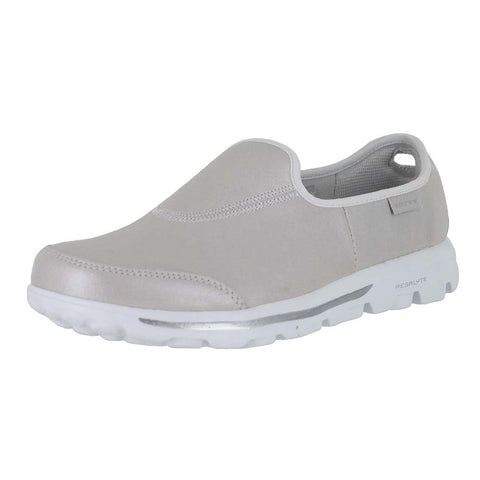 WOMENS GO WALK LUNAR WHITE