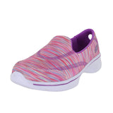 KIDS GO WALK 4 SPORTY STRIPES PINK MULTI