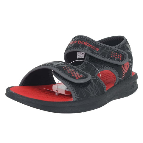 MENS (T) SPORT SANDAL BLACK RED