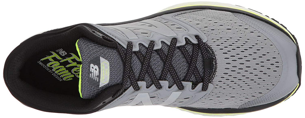 MENS 1080V8 FRESH FOAM GREY YELLOW