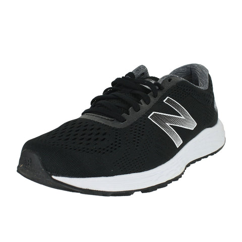 MENS ARISHI FRESH FOAM BLACK WHITE