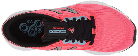 MENS 890V6 B MEDIUM VIVID CORAL BLACK