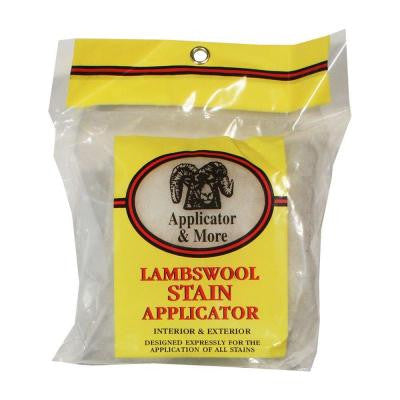 Lambswool Stain Applicator - Stain for Less - 1