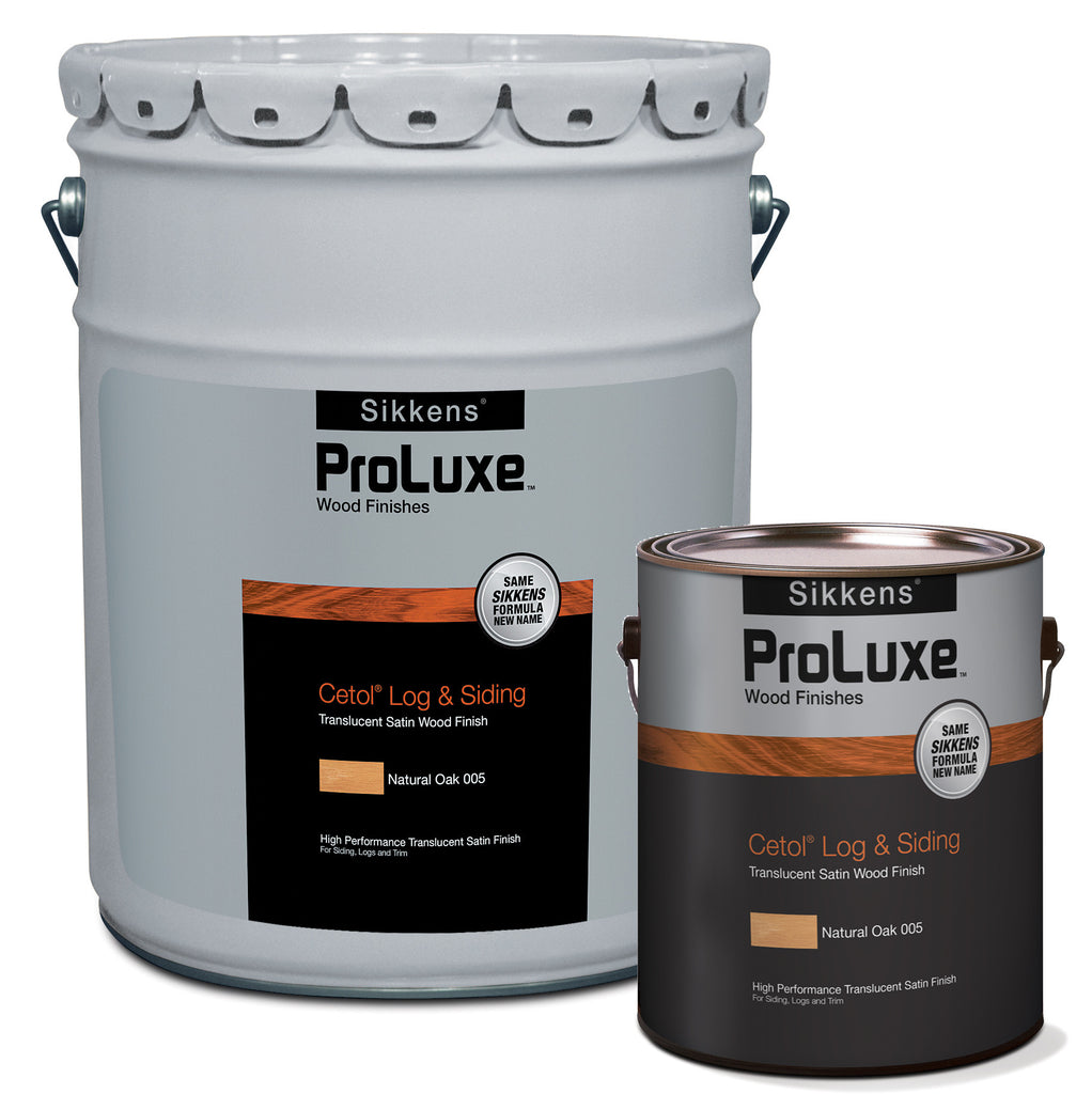 ppg proluxe sikkens cetol log siding stain stain for less. Black Bedroom Furniture Sets. Home Design Ideas