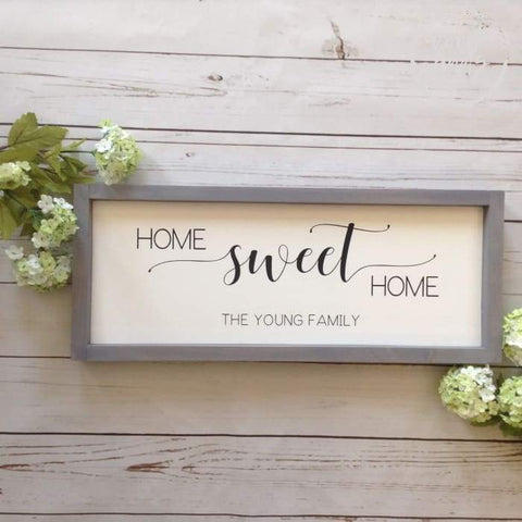 family wood sign ideas