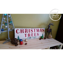 Christmas Trees for Sale Wood Sign | Handmade Wood Sign Wood Finds