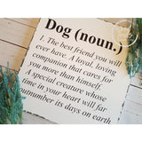 Dog Definition Wood Sign Gifts For Dog Lovers Wood Finds