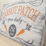 Easter Wall Decor Wood Sign - Carrot Patch WoodFinds