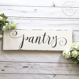 Pantry Decor Sign, Kitchen Decor, Pantry Sign Decor, Pantry, Kitchen Pantry Sign, Rustic Pantry Sign, Wood Pantry Sign