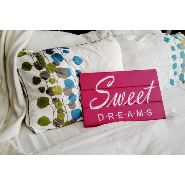 Sweet Dreams Sign for Girls Bedroom Wood Finds