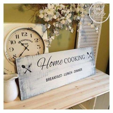 kitchen wood signs