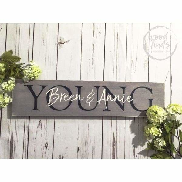 best outdoor entryway signs