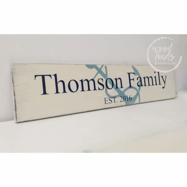 personalized outdoor wood signs