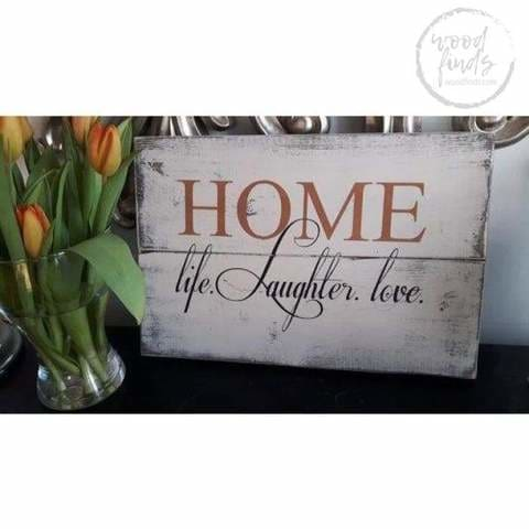 outdoor wood signs home sweet home