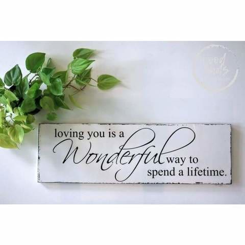 custom signs with love quotes