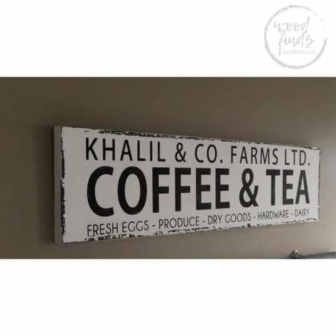 personalized kitchen wood signs