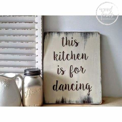 inspirational kitchen signs