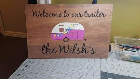 handmade wood signs