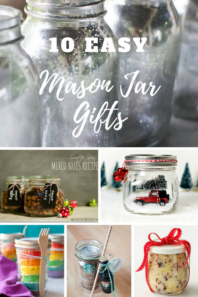 Our Top 10 Last Minute DIY Mason Jar Gifts