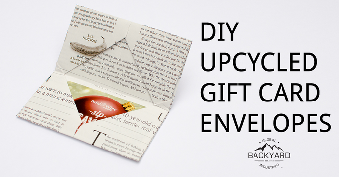 DIY Upcycled Gift Card Envelope
