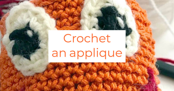 Crocheted Face Applique Pattern & Tutorial For Finished Amigurumi Projects