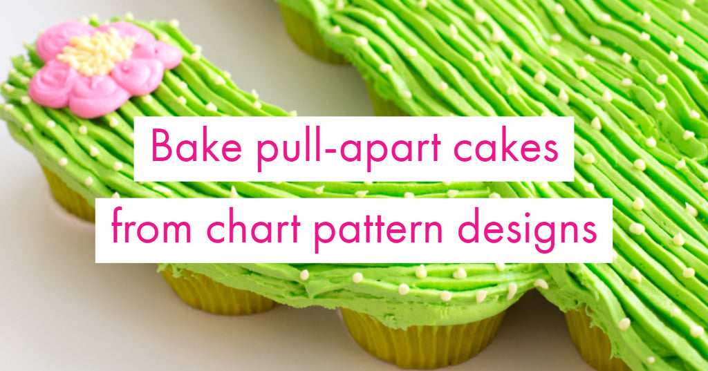Pull-Apart Cupcake Cakes: Use Your Pattern Charts for Design Inspiration