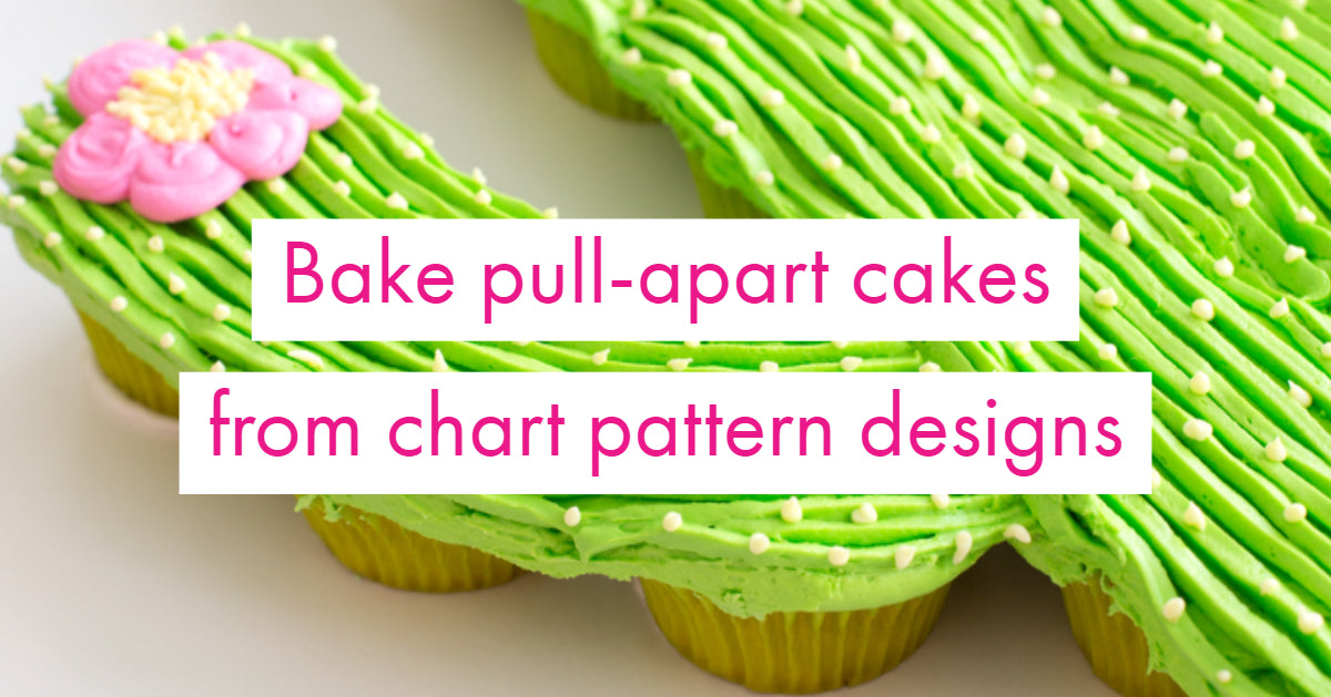 Pull Apart Cupcake Cakes Use Your Pattern Charts For Design Inspiration