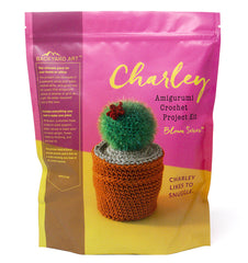 Charley amigurumi cactus crochet craft kit