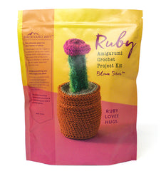 ruby amigurumi cactus crochet craft kit