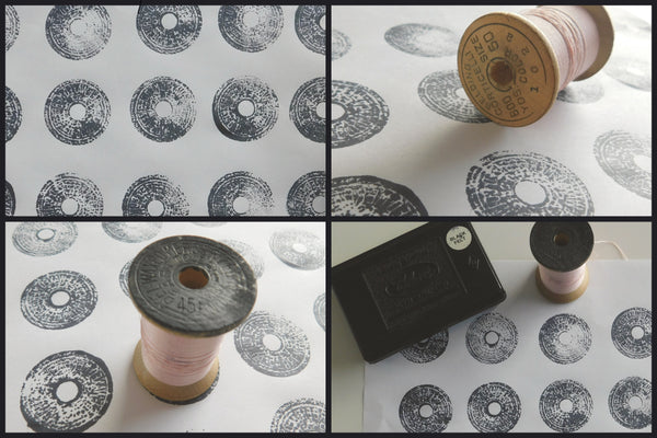Thread spool stamping