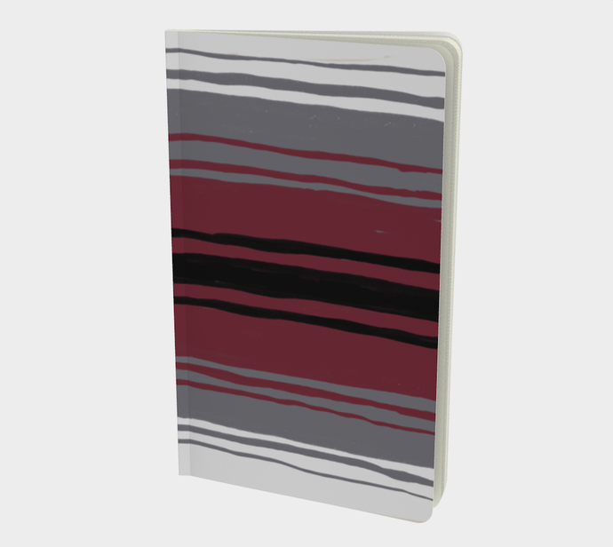 Notebook with Mexican Blanket Print - plain, graph, or bullet dot grid paper