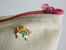 Load image into Gallery viewer, Rainbow Enamel Lapel Pin - symbol of hope and unity
