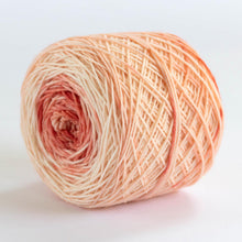 Load image into Gallery viewer, Hand Dyed Sock Yarn in Shades of Coral -- Merino Superwash Wool and Nylon
