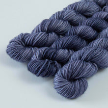 Load image into Gallery viewer, French Lavender Extrafine Merino Sock Yarn Mini Skein