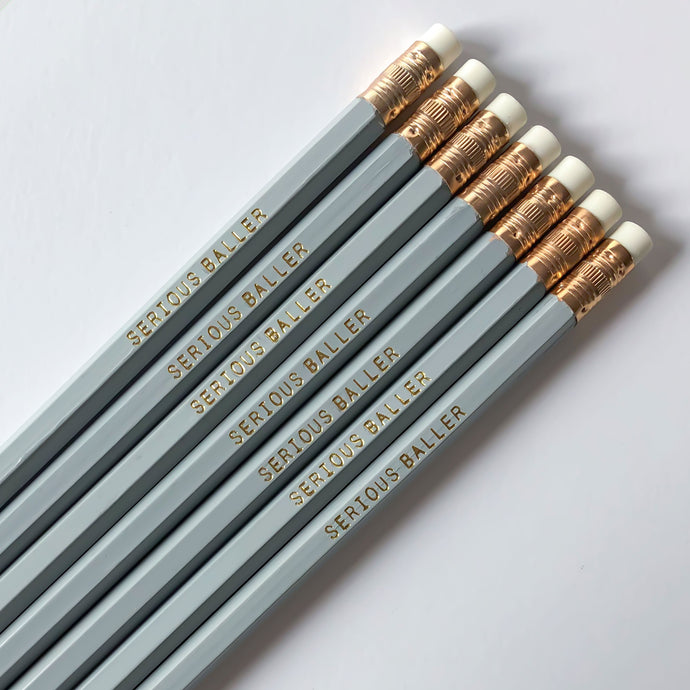 Serious Baller Pencil Set