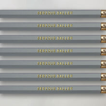 Load image into Gallery viewer, Serious Baller Pencil Set for Knitters and Crocheters