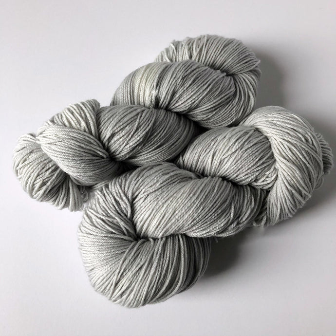 Cloud Cover Sock Yarn -- Hand Dyed Extrafine Merino Wool Blend