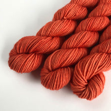 Load image into Gallery viewer, Coral Reef Extrafine Merino Sock Yarn Mini Skein
