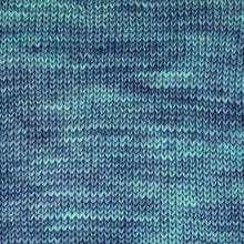 Load image into Gallery viewer, Surf's Up Sock Yarn in Blue Green -- Hand Dyed Extrafine Merino Wool Blend